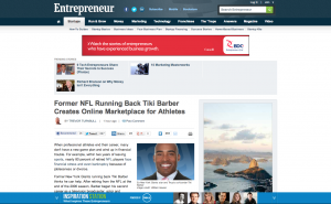 Entrepreneur-Tiki-Barber-Article